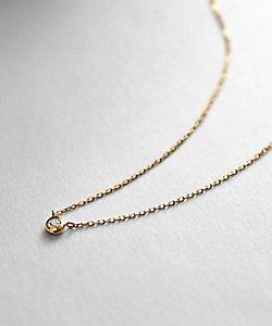 COCOSHNIK(Women)/ココシュニック K18ダイヤモンド ドーナツミラーカット ネックレス小(2001848287)