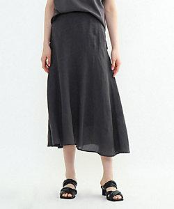 INDIVI S(Women)/インディヴィS 「S」ラミーボイルアシメ切替マーメイドスカート(2001858526)
