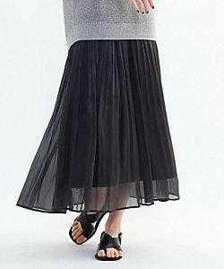INDIVI S(Women)/インディヴィS 「S」【WEB限定カラー】ブライトナチュナルプリーツスカート(2001866860)