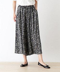 SHOO LA RUE(Women)/シューラルー スカート見えサラサラガウチョパンツ(2001880571)