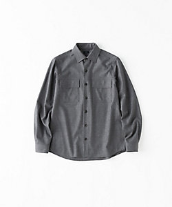 JOSEPH (Men)/ジョゼフ 【GLOBAL LINE】FLANNEL STRETCH CPO SHIRT(HSJIIM0002)