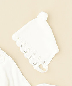 Crochet lace ボンネット ハット(HT4TBM0110)