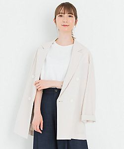 23区(Women)/ニジュウサンク 【洗える】ユーティリティツイル ジャケット(JKWOIM0500)