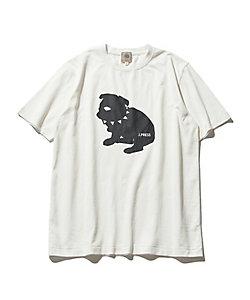 J.PRESS(Men)/ジェイ・プレス 【UNISEX】newブルドック Tシャツ(KHOVIA0507)