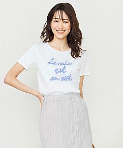 フレンチロゴTシャツ 刺繍ロゴ(KKW2BM0535)