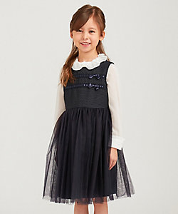 TOCCA BAMBINI(Baby&Kids)/トッカ バンビー二(KIDS) ドビーストレッチ ワンピース(OPT8BS0182)