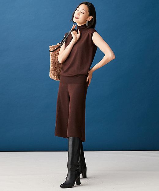 【マガジン掲載】Compact Wool ニットパンツ(番号CG38)(PRCYBW0322)