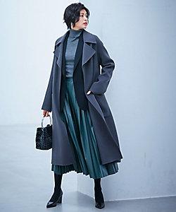 ICB(Women)/アイシービー Wool Rever トレンチ型コート(SCCYKW0317)