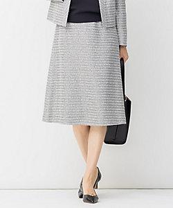 自由区(Women)/ジユウク 【Sサイズ有】カラミ ツイード スカート(SKWMIS0025)