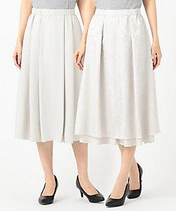 自由区(Women)/ジユウク 【2WAY/Sサイズ有】フラワーオパール スカート(SKWMIS0026)