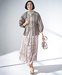 自由区(Women)/ジユウク 【Sサイズ有】スモールフラワープリント スカート(SKWMIS0226)