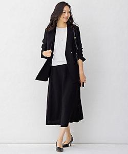自由区 L(Women/大きいサイズ)/ジユウクL マルチプルセットアップ スカート(SKWRIS0227)