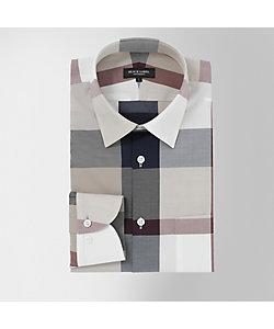 BLACK LABEL CRESTBRIDGE(Men)/ブラックレーベル・クレストブリッジ クレストブリッジチェックレギュラーカラーシャツ(51L25505__)