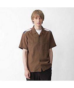 BLACK LABEL CRESTBRIDGE(Men)/ブラックレーベル・クレストブリッジ ヨークチェックオープンカラーシャツ(51M26526__)