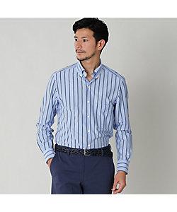 Paul Stuart(Men)/ポール・スチュアート ストライプジャージボタンダウンシャツ(カジュアルシャツ)(J1P01557__)