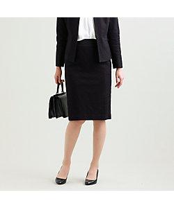 TRANSWORK(Women)/トランスワーク 【美Skirt】【セットアップ対応】【ウォッシャブル】ツイードジャージスカート(U1S11454__)
