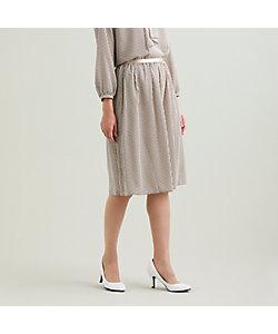 TRANSWORK(Women)/トランスワーク 【ウォッシャブル】ラインハートプリントスカート(U1S12456__)