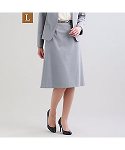 TRANSWORK L(Women)/トランスワークL 【L】【セットアップ対応】【美Skirt】トリアセルクスセミフレアースカート(U3S01307__)