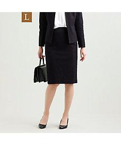 TRANSWORK L(Women)/トランスワークL 【L】【美Skirt】【セットアップ対応】【ウォッシャブル】ツイードジャージスカート(U3S11454__)