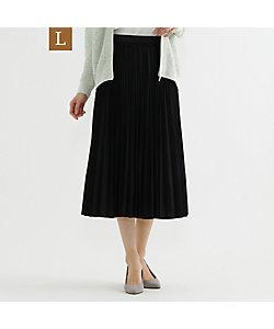 TRANSWORK L(Women)/トランスワークL 【L】【ウォッシャブル】デシンプリーツスカート(U3S13461__)