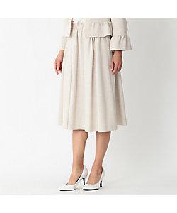TO BE CHIC(Women)/トゥー ビー シック ツィードジャージーフレアースカート(W5S20453__)