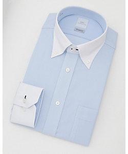 長袖色ドビーワイシャツ(CMD341-250)(MO016N0MO00000FKX)