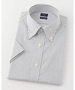 半袖ストライプワイシャツ(CFN633-480)(MO018N0MO00000GHN)