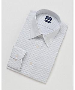 SHIRT FACTORY(Men)/シャツファクトリー 長袖ストライプワイシャツ(CFD133-450)(MO018N0MO00000I66)