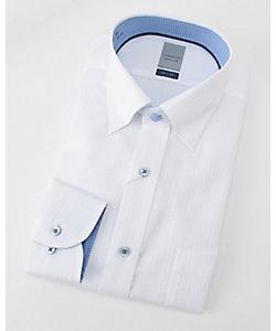 長袖白ドビーワイシャツ(ZOD393-200)(MO019N0MO00000FIY)