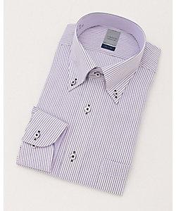 長袖ストライプワイシャツ(ZOD906-465)(MO019N0MO00000HBJ)