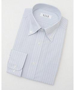 ELLE(Men)/エル 長袖ストライプワイシャツ(ZED381-380)(MO020N0MO00000FNT)