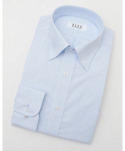 長袖チェックワイシャツ(ZED384-650)(MO020N0MO00000FNW)