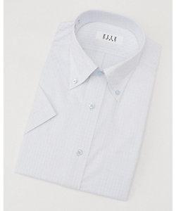 ELLE(Men)/エル 半袖チェックワイシャツ(ZEN627-680)(MO020N0MO00000GK2)