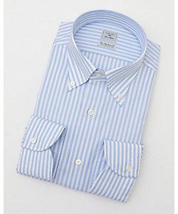 長袖ストライプワイシャツ(CID311-350)(MO021N0MO00000FO9)