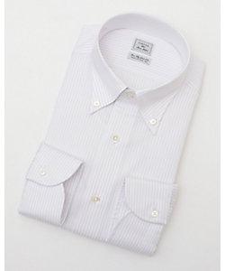 長袖ストライプワイシャツ(CID311-410)(MO021N0MO00000FOA)