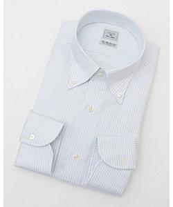 長袖ストライプワイシャツ(CID311-450)(MO021N0MO00000FOB)