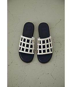 RIM.ARK(Women)/リムアーク Lattice pattern sandal(460ESS55-0030)