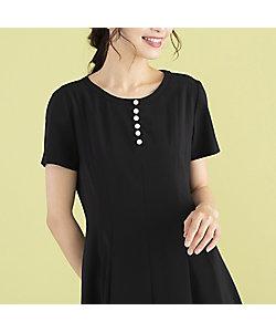 Rose Tiara(WOMEN/大きいサイズ)/ローズティアラ(大きいサイズ) ステファニー裾切替ワンピース(51011103)