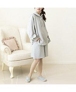 Rose Tiara(WOMEN/大きいサイズ)/ローズティアラ(大きいサイズ) 【 ouchi de Rose 】 フレアショートパンツ(51062131)