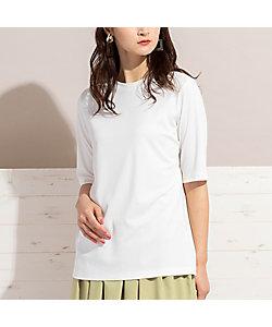 PISANO/ピサーノ アクアスーティングワイドリブ・半袖Tシャツ(56122101)