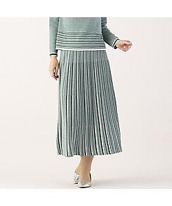 Liliane Burty Eclat(Women)/リリアンビューティ エクラ オールゴム ニットスカート【セットアップ可】(73042101)