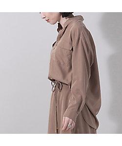 EUCLAID(Women)/エウクレイド パウダーシフォンワークシャツ【セットアップ可】(88036003)