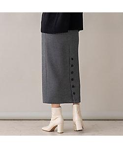 EUCLAID(Women)/エウクレイド スウェットライクタイトスカート(88041102)