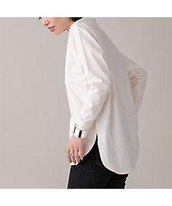 EUCLAID(Women)/エウクレイド 【ホワイト追加!】綿天竺ロングスリーブTシャツ(88125006A)