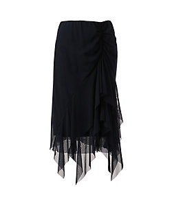 VIVIENNE TAM(Women) /ヴィヴィアン タム SOLID STRETCH NETTING スカート