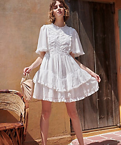 Estella.K/エステラケー Amalia Dress WHT
