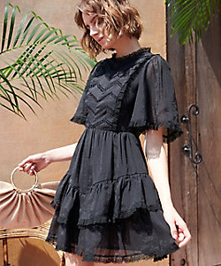 Estella.K/エステラケー Amalia Dress BLK