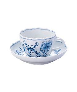 MEISSEN/マイセン ブルーオニオン ティー/コーヒー兼用 カップ&ソーサー