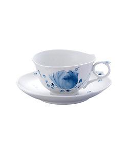 MEISSEN/マイセン 青い花 ティーカップ&ソーサー
