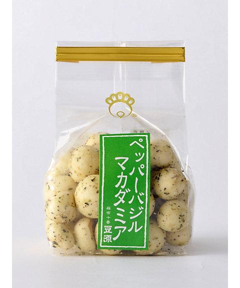 <豆源> ペッパーバジルマカダミア(和菓子)【三越・伊勢丹/公式】